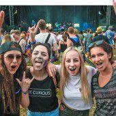 Szene Openair lockt Tausende Festivalfans