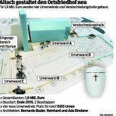 Altach schafft Platz auf Ortsfriedhof