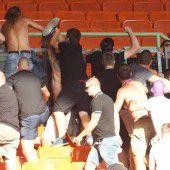 Unrühmliche Szenen nach einem packenden Wiener Derby