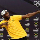 König Bolt hielt Hof