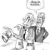 Erdogan beim Russland-Spiel!