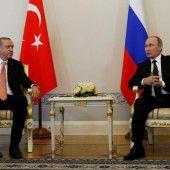 Erdogan und Putin sind nicht mehr verfeindet