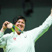 47-Jährige holt die erste Schweizer Medaille