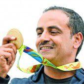 Erstes Gold unter der olympischen Flagge