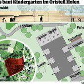 Neubau für Kleinkinder in Göfis