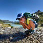 Wandern und Wasserkraft