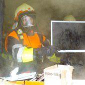Brand in einer Göfner Wohnung