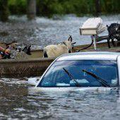 Louisiana kämpft gegen Hochwasser