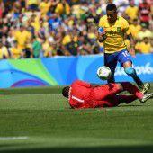 Neymar und Brasilien spielen um Olympia-Gold