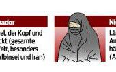 Aufregung um Burka-Verbot