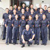 21 neue Polizeikräfte im Land