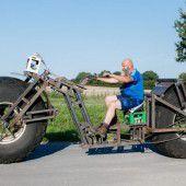 Schwerstes fahrbares Fahrrad der Welt