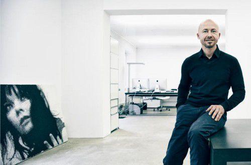Andreas Haselwanter gestaltete das preisgekrönte Lookbook. Fa/Bereuter