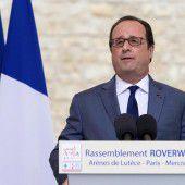 Hollande kriegt Brechreiz von Trumps Reden