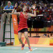 Marin holte für Europa erstes Badminton-Gold