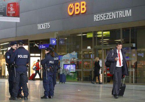 In der Mail wurde auch mit Anschlägen am Wiener Hauptbahnhof gedroht.