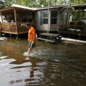 Louisiana kämpft mit den Folgen der Fluten