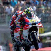 Ducati-Piloten sind in Brünn die großen Gejagten
