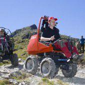 LUF baut Teststrecke für neue Turbo-Rollstühle