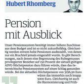 Pensionssystem hat schwere Mängel