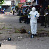 Tote nach Anschlagserie in Thailand