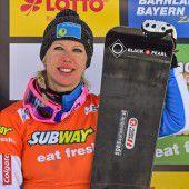Kreiner stellte das Snowboard in die Ecke