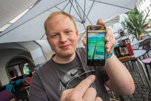 Markus Madlener hat den Gaming und Cosplay-Verein Anfang des Jahres gegründet. Er hat mittlerweile schon 260 Mitglieder.