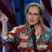 Streep entsetzt über Eastwood-Aussage