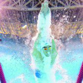 Phelps hat Leonidas abgehängt