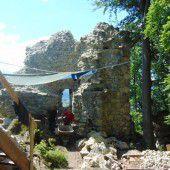 Endspurt bei Renovierung der Ruine Neuburg