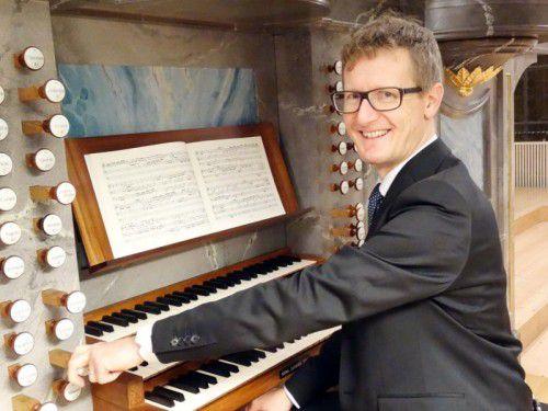 Organist Martin Heini bringt sich vielfältig ein.