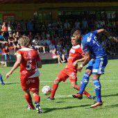 Goalie Manuel Schneider rettete Unentschieden