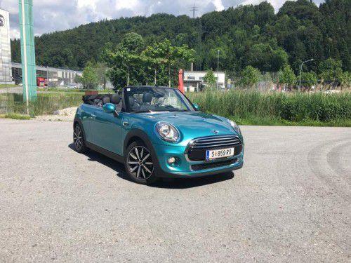 Schickes Cabrio mit deutlich verbesserten Manieren: Das Mini Cabrio ist erwachsen geworden.