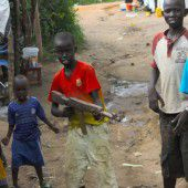 Im Südsudan kämpfen 650 Kindersoldaten