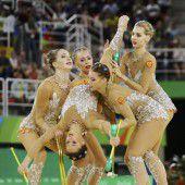 Russlands hält seine Gold-Serie