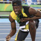 Bolt ließ es noch einmal krachen