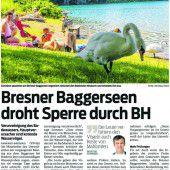 Entwarnung für Bresner Baggerseen