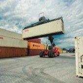 Exporte im ersten Halbjahr im Hoch