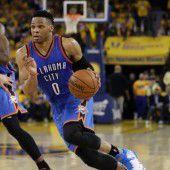 Oklahoma City verlängert mit Westbrook