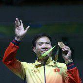 Hoang holt die erste Goldene für Vietnam