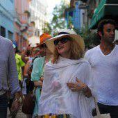 Madonna lässt es sich auf Kuba gut gehen