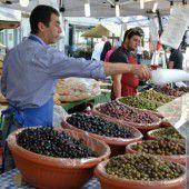 Italienischer Spezialitätenmarkt am Leutbühel