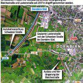 Dritter Autobahnknoten für Dornbirn