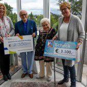 3100 Euro für Ma hilft gespendet