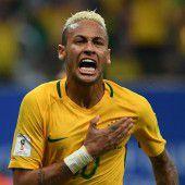Neymar lässt Brasilien erneut jubeln