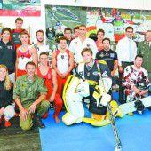 Heeresleistungssportler präsentieren sich auf der Dornbirner Herbstmesse