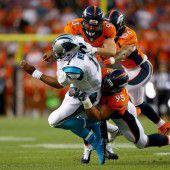 Broncos gewinnen Super-Bowl-Neuauflage