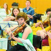 QUARTA 4 Länder Jugendphilharmonie bereitet in Bizau den Start vor