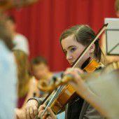 Start der 4 Länder Jugendphilharmonie