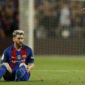 Drei Wochen Pause für Lionel Messi
